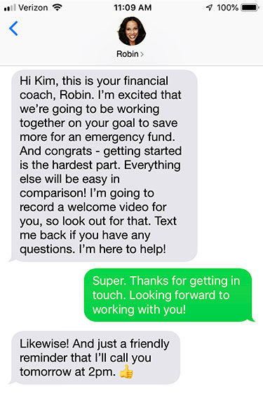 advisor-SMS-exchange-longer-copy